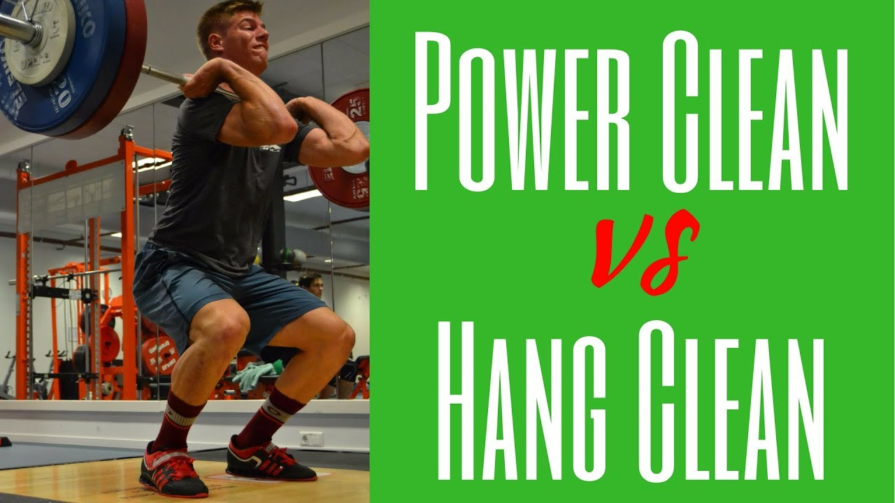 Power Clean vs Hang Clean difference: What\'s the difference between ...