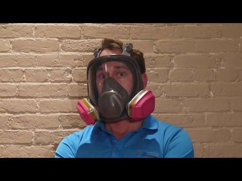 3m full face dust mask respirator
