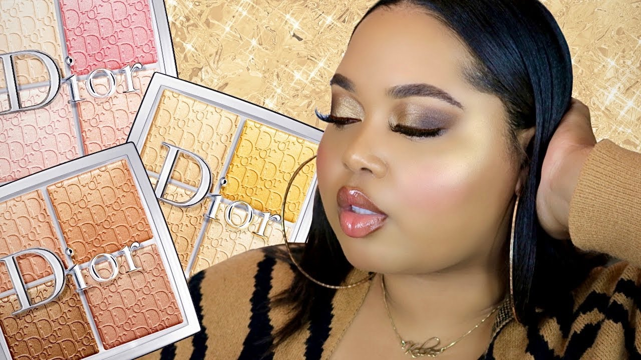 New Dior BACKSTAGE Glow Face Palettes Demo + Review   Pure ...