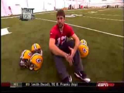 Old ESPN video that shows the funny side of Aaron Rodgers