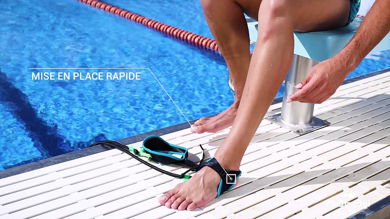 Elastique de nage pieds pour la natation - YouTube 914247817f3