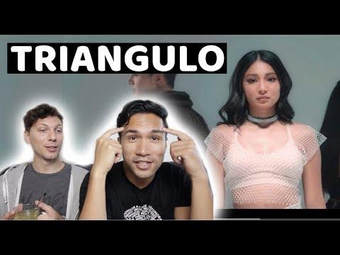 Triangulo - Nadine Lustre, Sam Concepcion and Nicole Omillo (Official Music Video) | REACTION