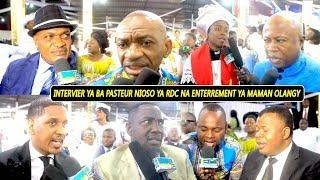 Exclusif : Ba Pasteur Nioso Ba Sangani Na Enterrement Ya Maman Olangi Interview Triste
