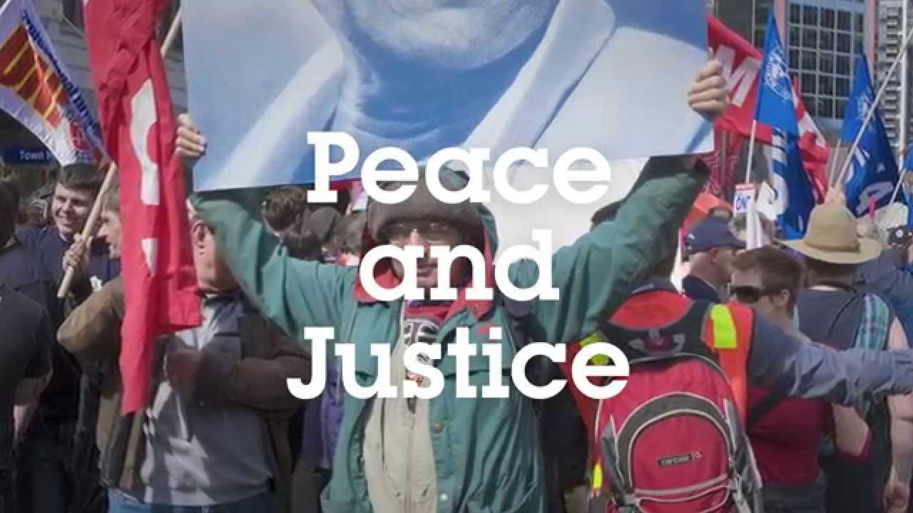 WE ARE ALL CONNECTED: PEACE & JUSTICE
