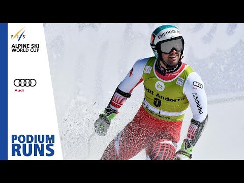 Vincent Kriechmayr | Men's Super-G | Soldeu | Finals | 3rd place | FIS Alpine