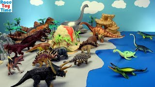 Dino Volcano Island Adventure - Learn Dinosaurs Names Fun Toys For Kids