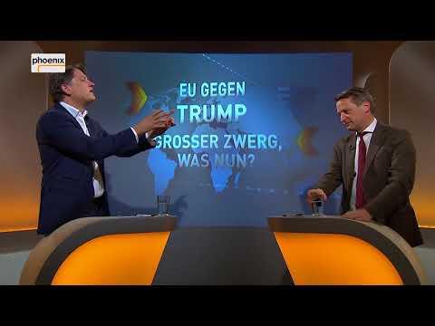 """Augstein und Blome vom 18.05.2018:  """"EU GEGEN TRUMP - GROSSER ZWERG, WAS NUN?"""""""