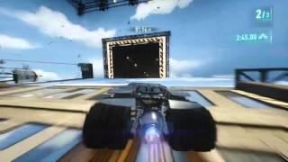 Batman: Arkham Knight - Batcave Set 3 Lap Race AR Challenge - 3 Stars w/ The Tumbler
