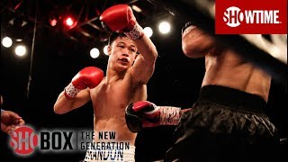 Brandun Lee KOs Milton Arauz in Round 2 | SHOBOX: THE NEW GENERATION