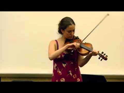 Brittany Haas plays an untitled tune cowritten with Dan Trueman