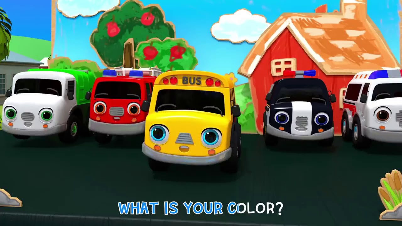 Download What Is Your Color? Baby Car | Learn Colors Song | Nursery Rhymes & Kids Songs - ToyMonster