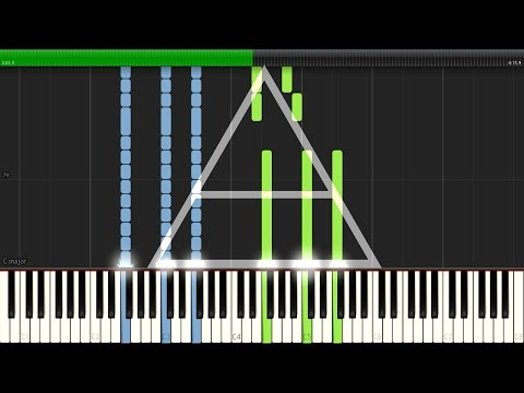A Beautiful Lie  30 Seconds To Mars Piano Synthesia Tutorial