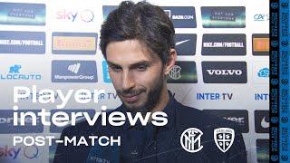 INTER 4-1 CAGLIARI | RANOCCHIA + BORJA VALERO + DIMARCO EXCLUSIVE INTERVIEWS