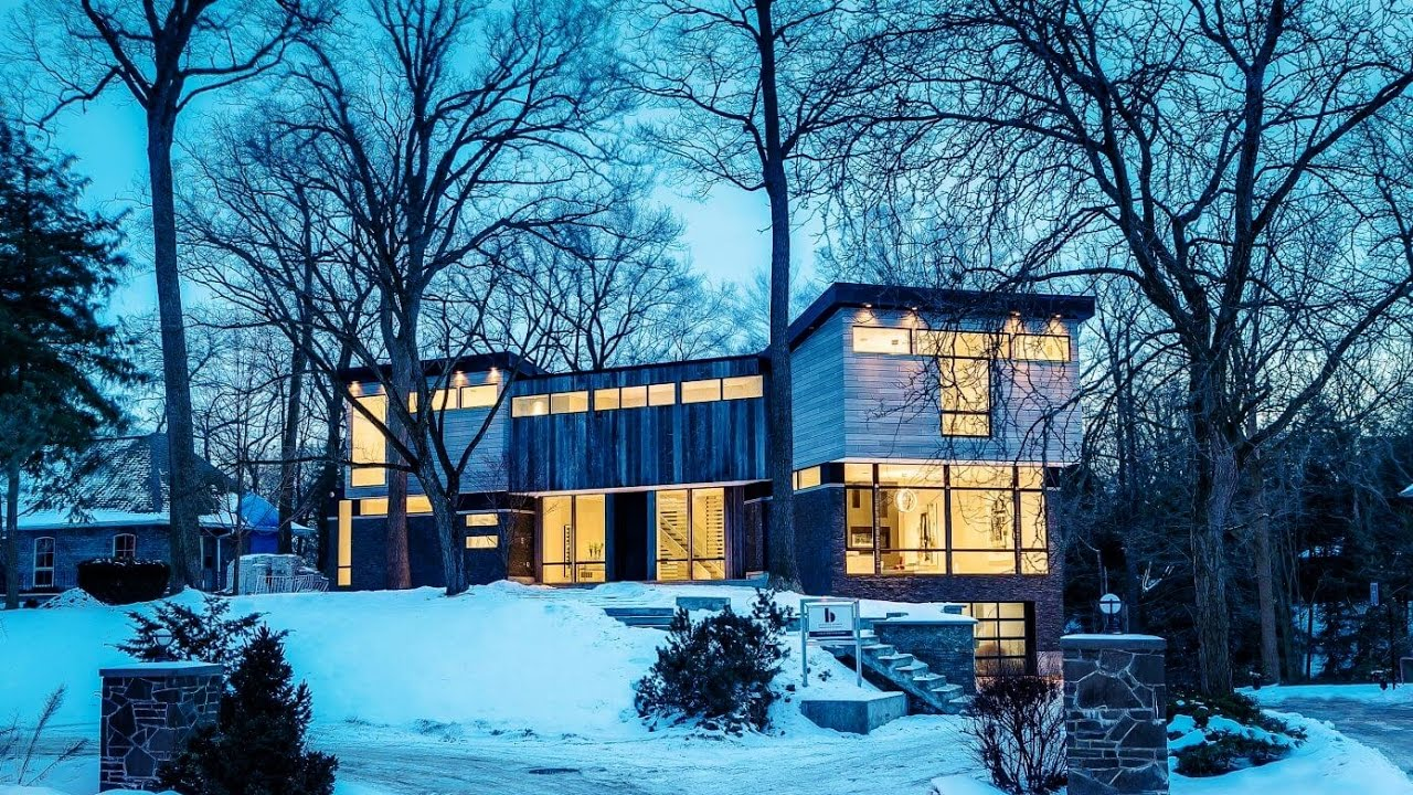 Modern contemporary single family house in canada by barroso homes