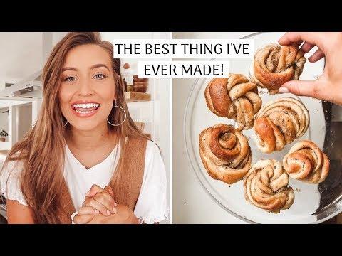 I MADE SWEDISH CARDAMOM BUNS | Kristin's Kitchen