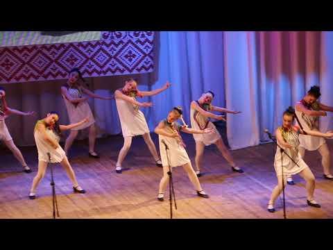 """Александра Никулина и народный театр эстрадного танец  """"Фристайл"""""""