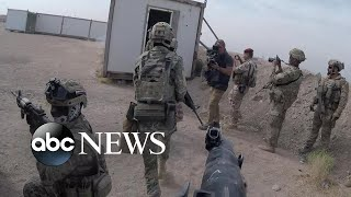 Exclusive: David Muir goes inside Iraq as US hunts ISIS fighters l ABC News