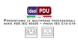 Ideal Power  Specialisti PDU Serie VDE IEC 60320 C13 C19
