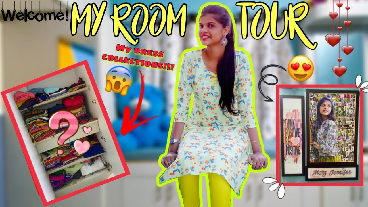 MY ROOM TOUR❤️  Welcome to My Room  Jenni's Hacks