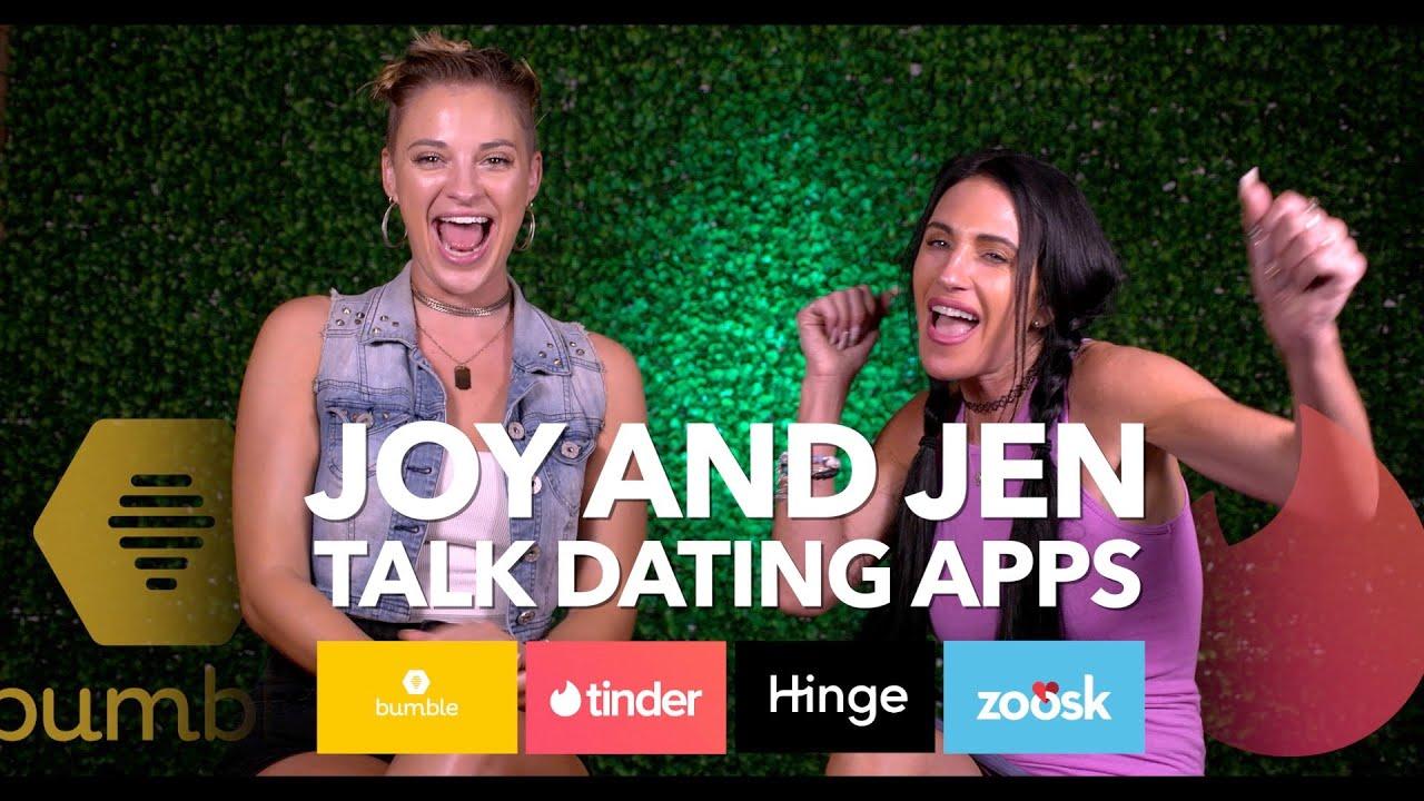 Joy and Jen Talk Dating Apps - YouTube