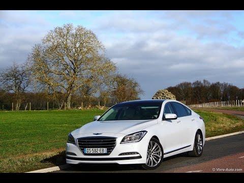 Essai Hyundai Genesis, la berline premium coréenne