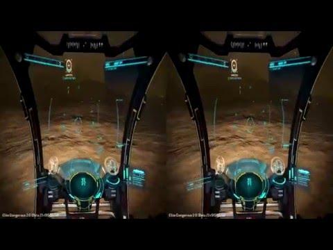 Elite Dangerous - Horizons Beta in Stereoscopic 3D