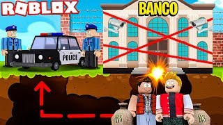 WE STOLE THE SAFEST BANK IN ROBLOX!