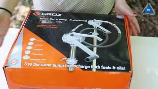 Роторный насос для топлива Groz RB/1H обзор