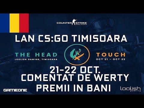 ANUNT LAN CS:GO LOOLISH TIMISOARA - COMENTEZ FINALA SI SEMIF. | PREMII IN BANI