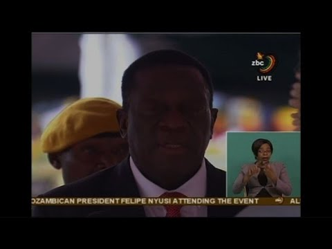 Mnangagwa sworn in as Zimbabwe's new president (2)
