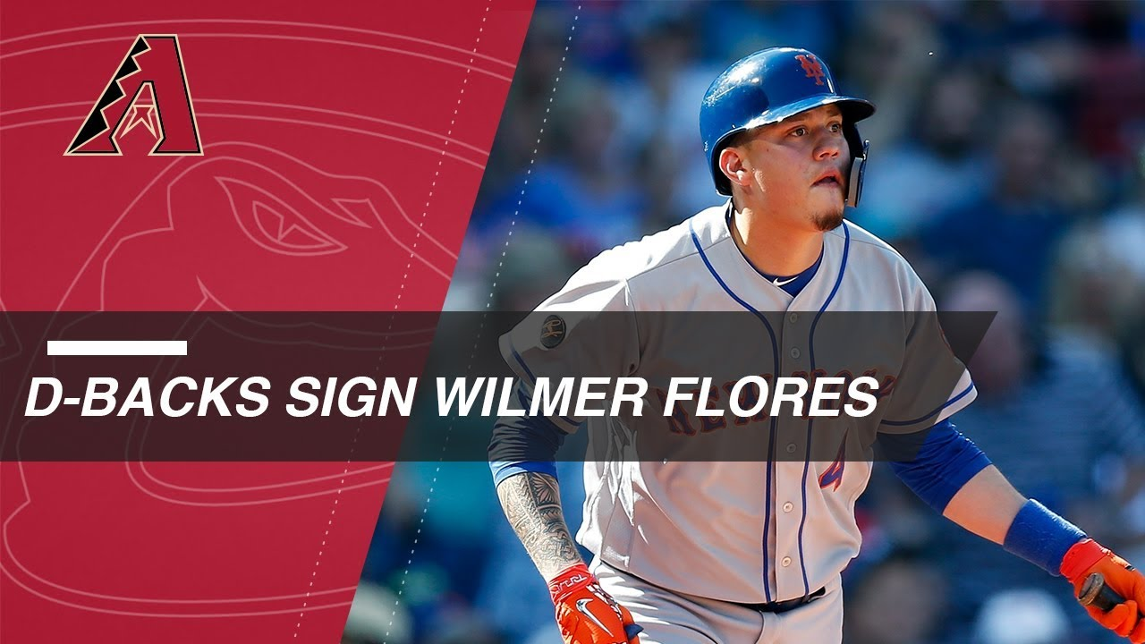 Wilmer Flores enters free agency after Mets non tender