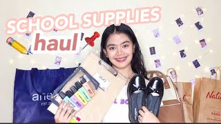 Back to School Supplies Haul 2019 (Philippines) + lil bro || Catherine Villanueva