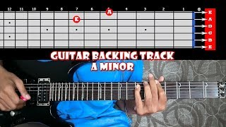 Punk Rock and Roll Wild Melodic Guitar Backing Track In A Minor | 120 bpm