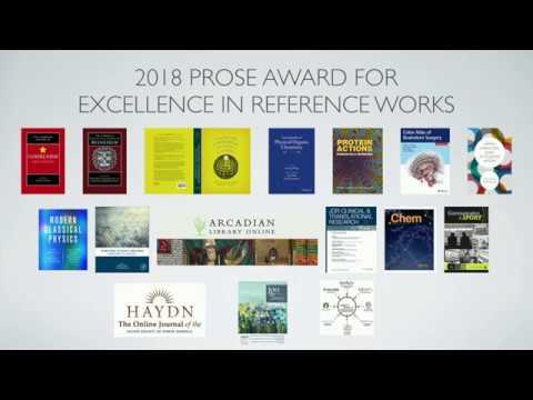 2018 Prose Awards