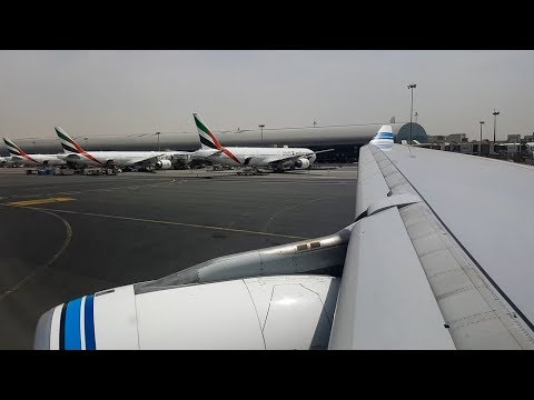 Kuwait Airways A330-200 Dubai to Kuwait *Full Flight*