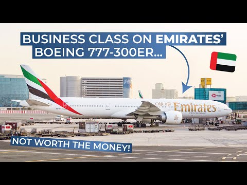TRIPREPORT | Emirates (BUSINESS CLASS) | Boeing 777-300ER |