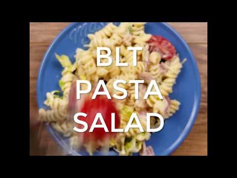 BLT Pasta Salad (Perfect Summer Party BBQ Recipe!)