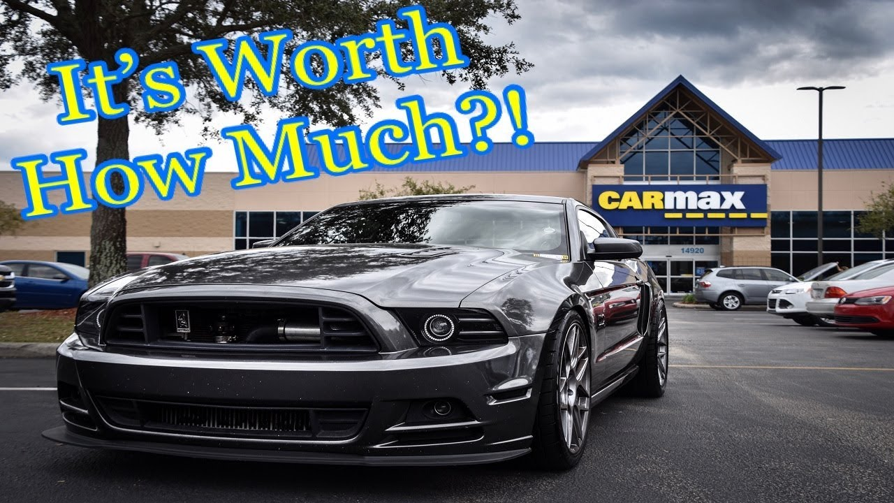 I took my 2013 twin turbo gt cs mustang to carmax