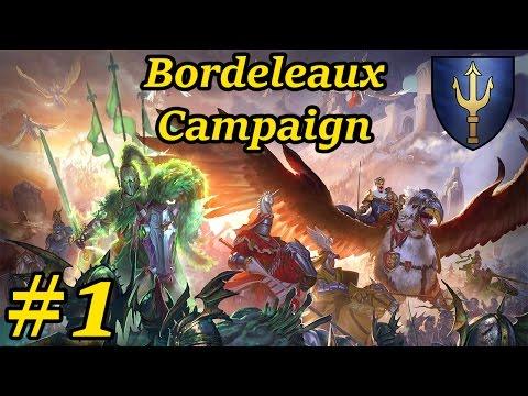 New Bretonnia DLC Campaign - Alberic Duke Of Bordeleaux   Warhammer Total War Gameplay #1
