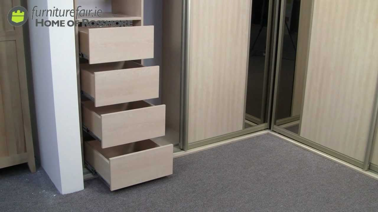 Corner Unit Sliding Wardrobe Youtube