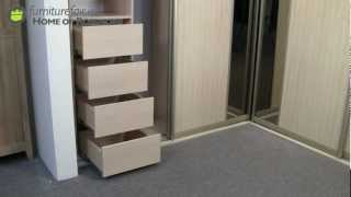 Corner Unit Sliding Wardrobe