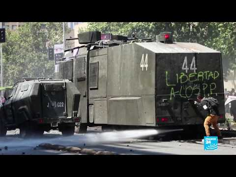 Protests Over Economic Inequality Continue In Chile