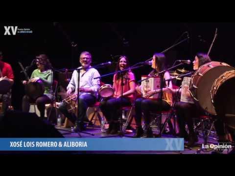 Xosé Lois Romero & Aliboria nos XV Premios Opinión (resumo)