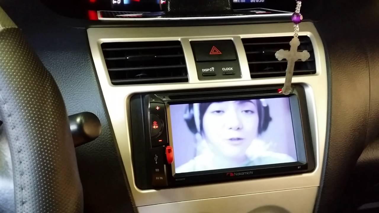 Nakamichi Na2820 2din Headunit On Toyota Vios Second Gen