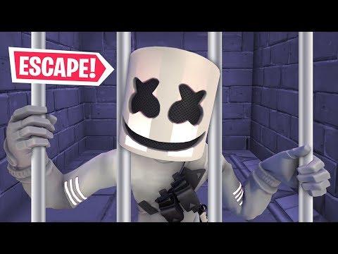 הבריחה מהכלא הכי קשה בעולם   FORTNITE !!!