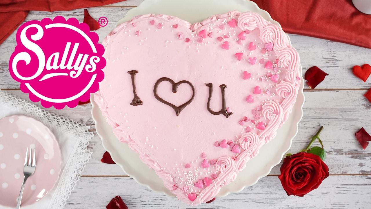 Herztorte Ohne Werkzeug Valentinstag Muttertag Youtube