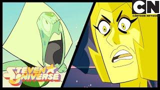Steven Universe   Peridot Anrufe Gelbe Raute Klumpen   Nachricht Empfangen   Cartoon Network