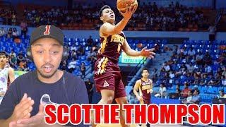 SCOTTIE THOMPSON SEASON 91 COLLEGE HIGHLIGHTS REACTION
