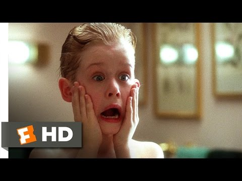 Home Alone (1/5) Movie CLIP - Kevin Washes Up (1990) HD