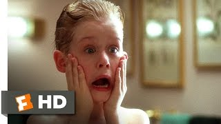 Home Alone (1990) - Kevin Washes Up Scene (1/5) | Movieclips